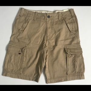 Abercrombie & Fitch Mens Classic Cargo Shorts 33